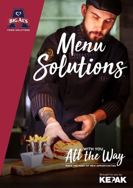 Menu Solutions Post Covid-19